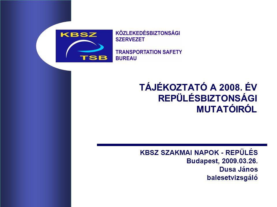 TÁJÉKOZTATÓ A 2008.