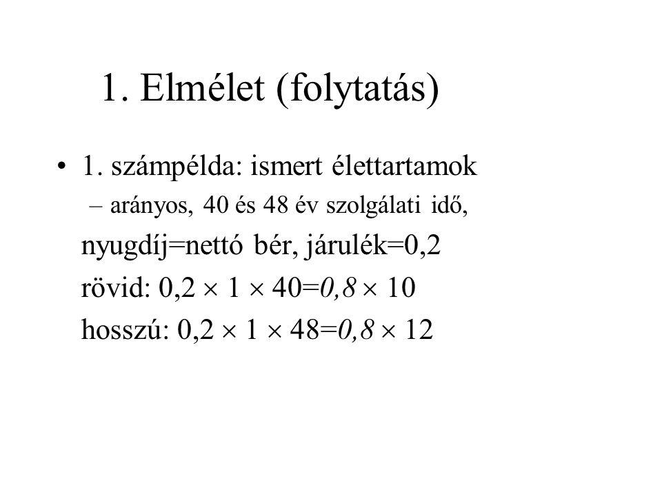 A munkaáldozatok különböznek (folyt.) •Semleges rendszer: b(R)=  R/(D  R) •Egyéni optimum: U  max.
