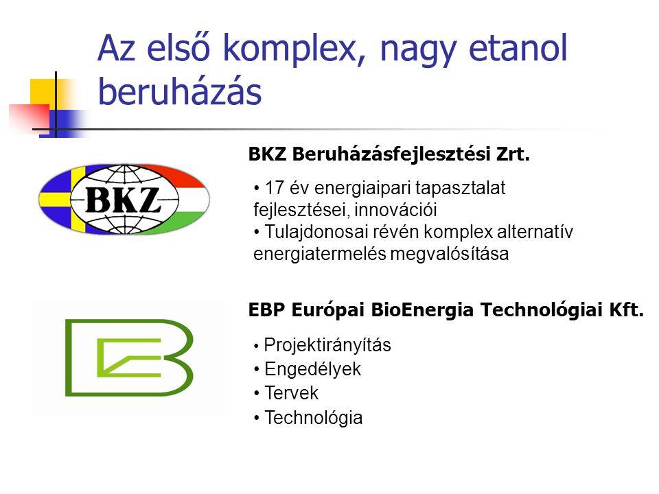 • 17 év energiaipari tapasztalat fejlesztései, innovációi • Tulajdonosai révén komplex alternatív energiatermelés megvalósítása • Projektirányítás • E