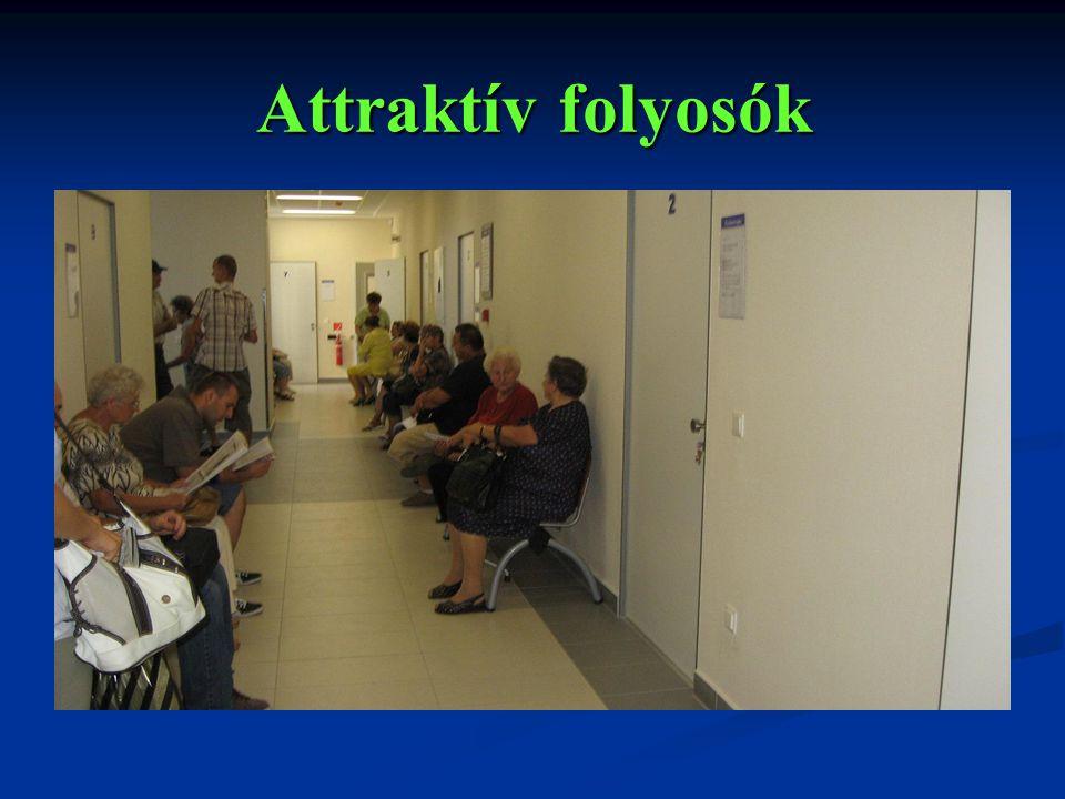 Attraktív folyosók