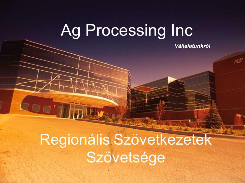 Ag Processing Inc Regionális Szövetkezetek Szövetsége Vállalatunkról