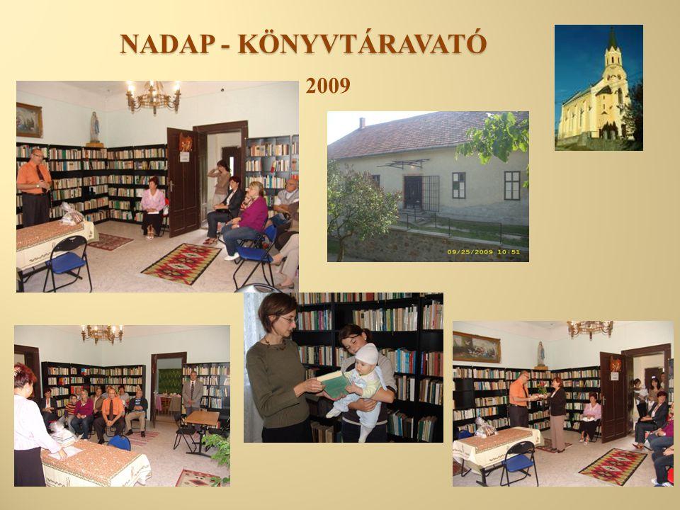 NADAP - KÖNYVTÁRAVATÓ 2009