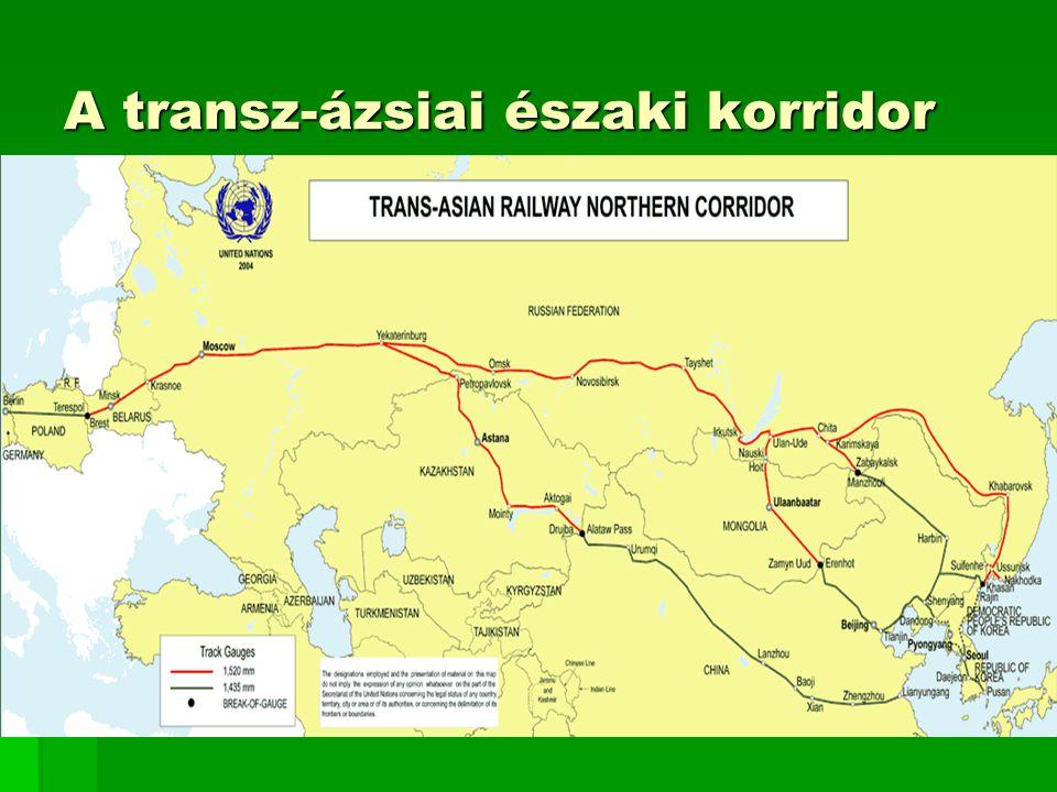 A transz-ázsiai északi korridor