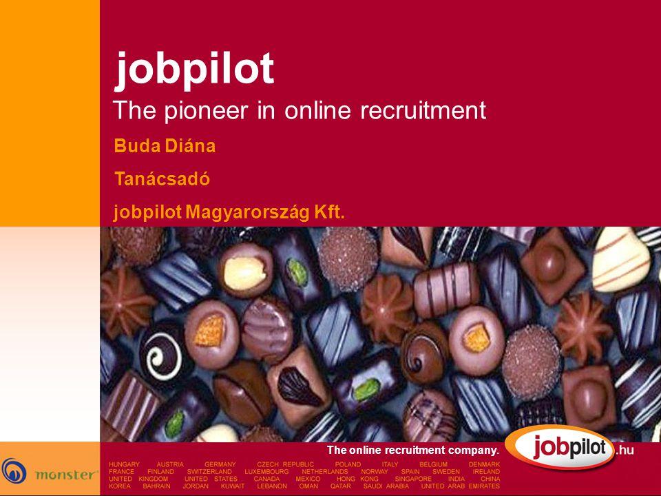 The online recruitment company.Buda Diána Tanácsadó jobpilot Magyarország Kft.