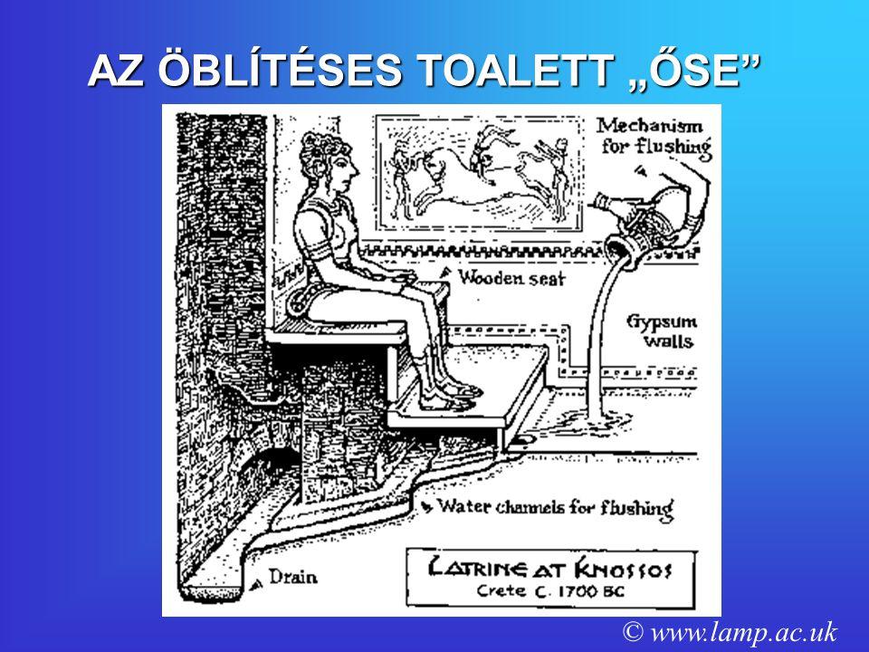"""AZ ÖBLÍTÉSES TOALETT """"ŐSE"""" © www.lamp.ac.uk"""