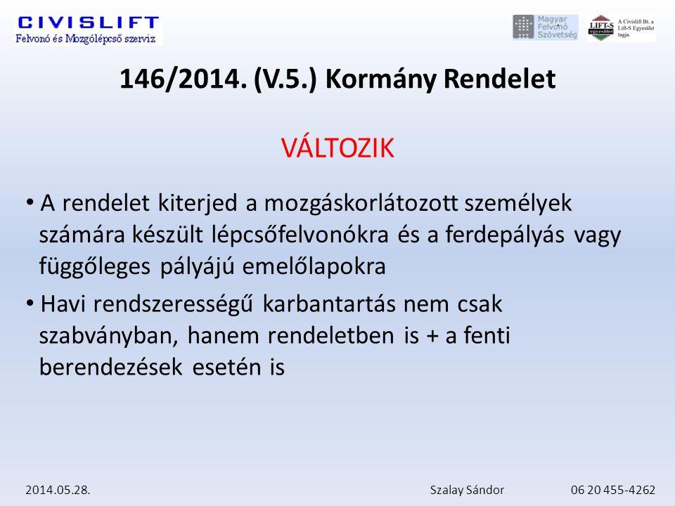 2014.05.28.Szalay Sándor 06 20 455-4262 0. év 5. év 10.