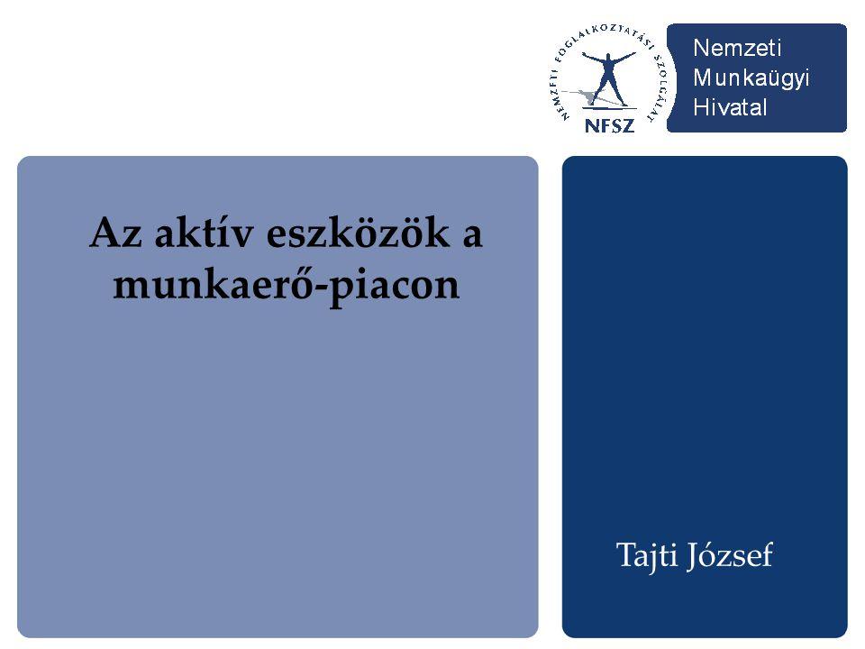 Az aktív eszközök a munkaerő-piacon Tajti József