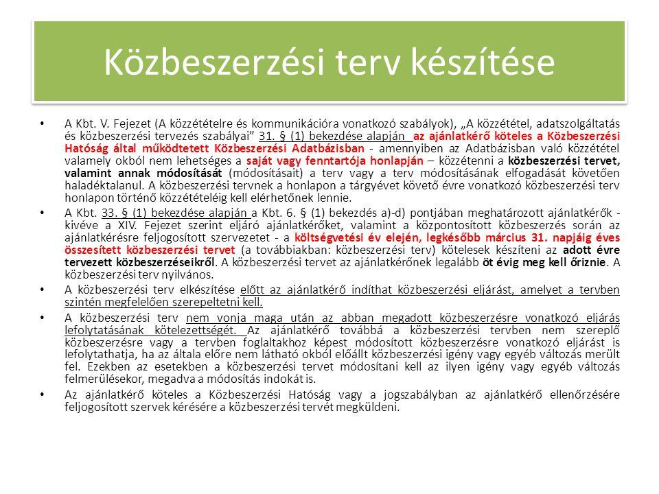 • A Kbt. V.