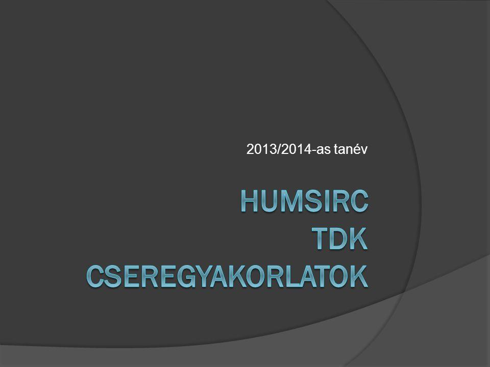 2013/2014-as tanév