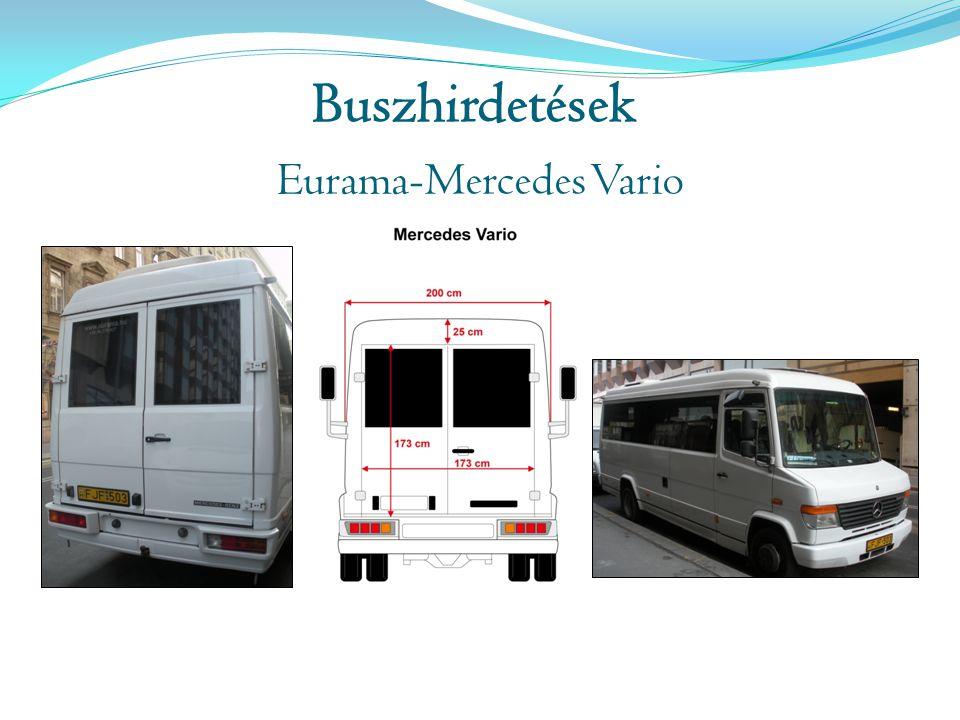 Buszhirdetések Eurama-Mercedes Vario