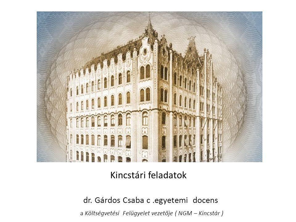 Kincstári feladatbővülések  Kincstári kiemelt projektek  Új szlavezető rendszer 2011.dec.