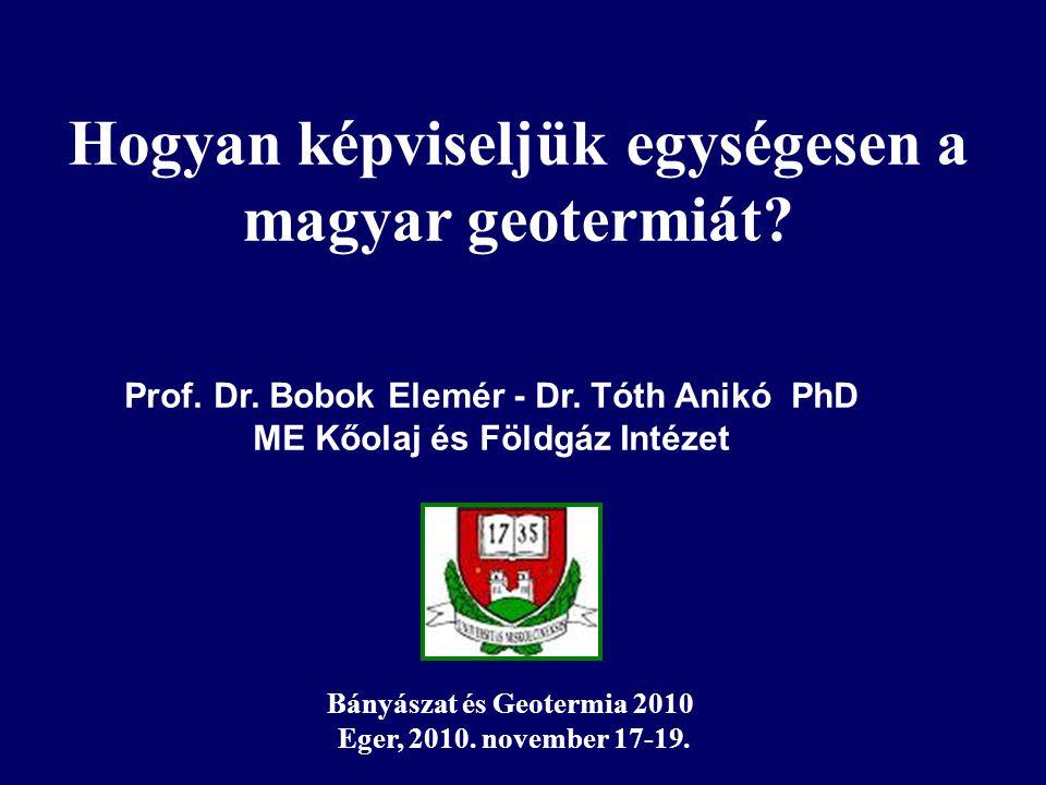 Prof. Dr. Bobok Elemér - Dr.