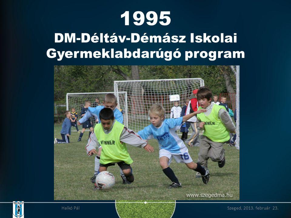2006 Díjak alapítása a legkiválóbb teljesítmények elismerésére Halkó Pál Szeged, 2013. február 23.