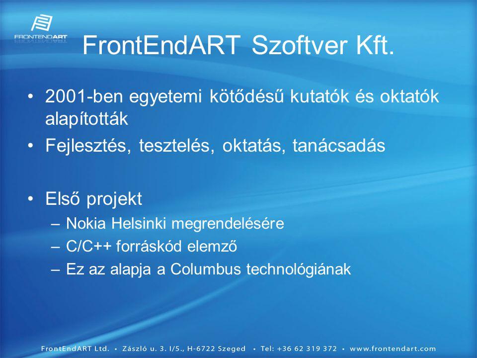 FrontEndART Szoftver Kft.