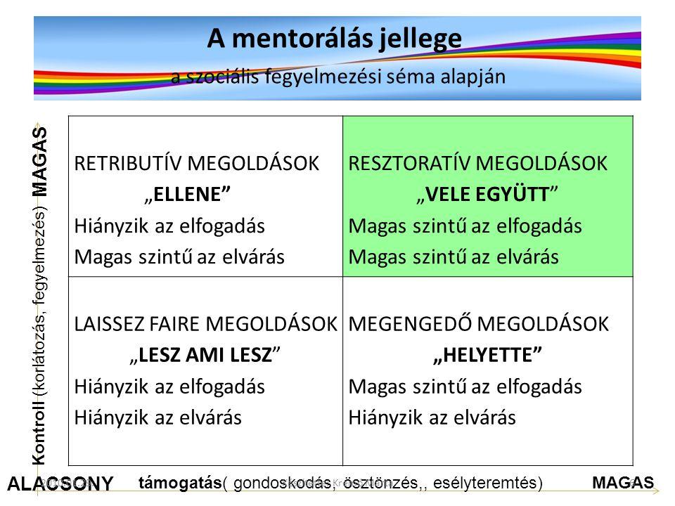 Telemachus and Mentor A MENTORÁLÁS AZ ESÉLYTEREMTÉS LEHETŐSÉGE 2010.01.29.7