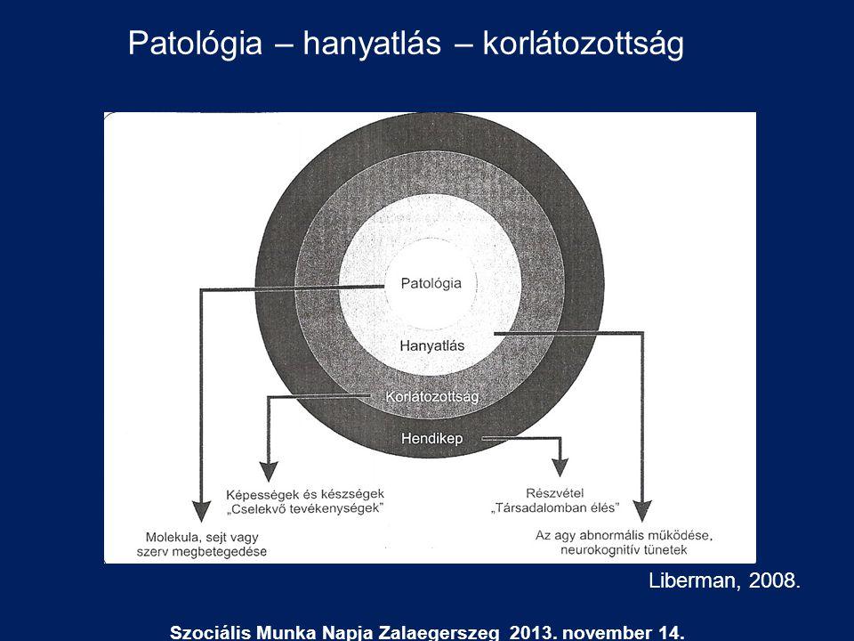 Liberman, 2008. Patológia – hanyatlás – korlátozottság
