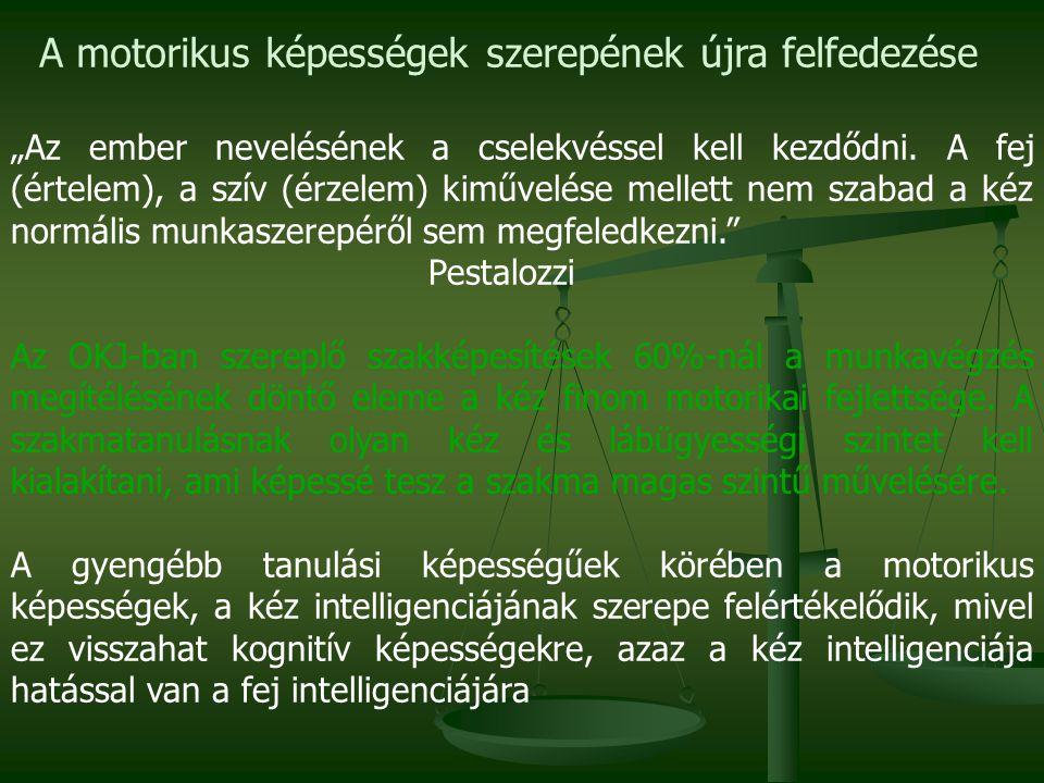 """""""Az ember nevelésének a cselekvéssel kell kezdődni. A fej (értelem), a szív (érzelem) kiművelése mellett nem szabad a kéz normális munkaszerepéről sem"""