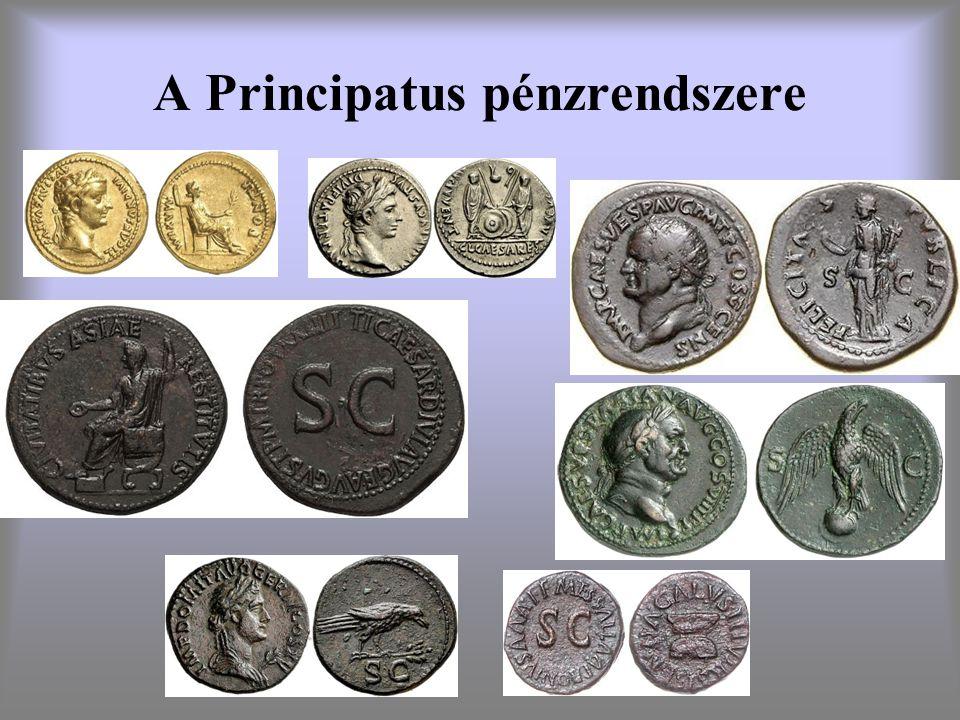 A Principatus pénzrendszere