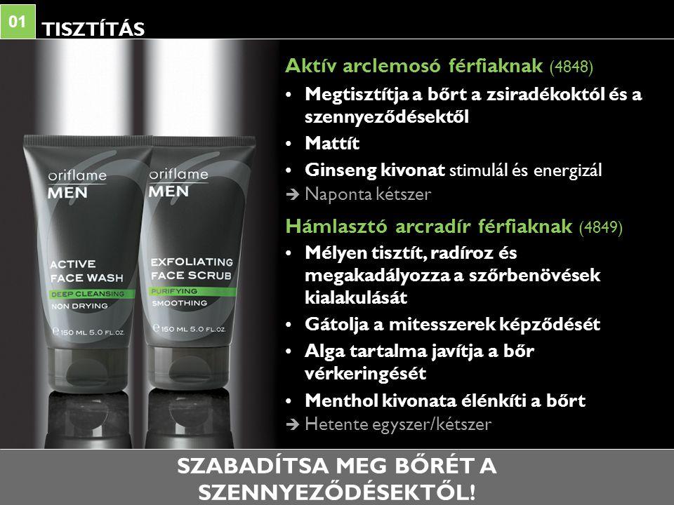 BOROTVÁLKOZÁS 02 Felejtse el a borotválkozást követő irritációt.