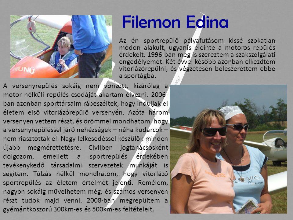 Kádár Andrea Hajdúszoboszlón repülök az Aero Klub Debrecen tagja-ként.