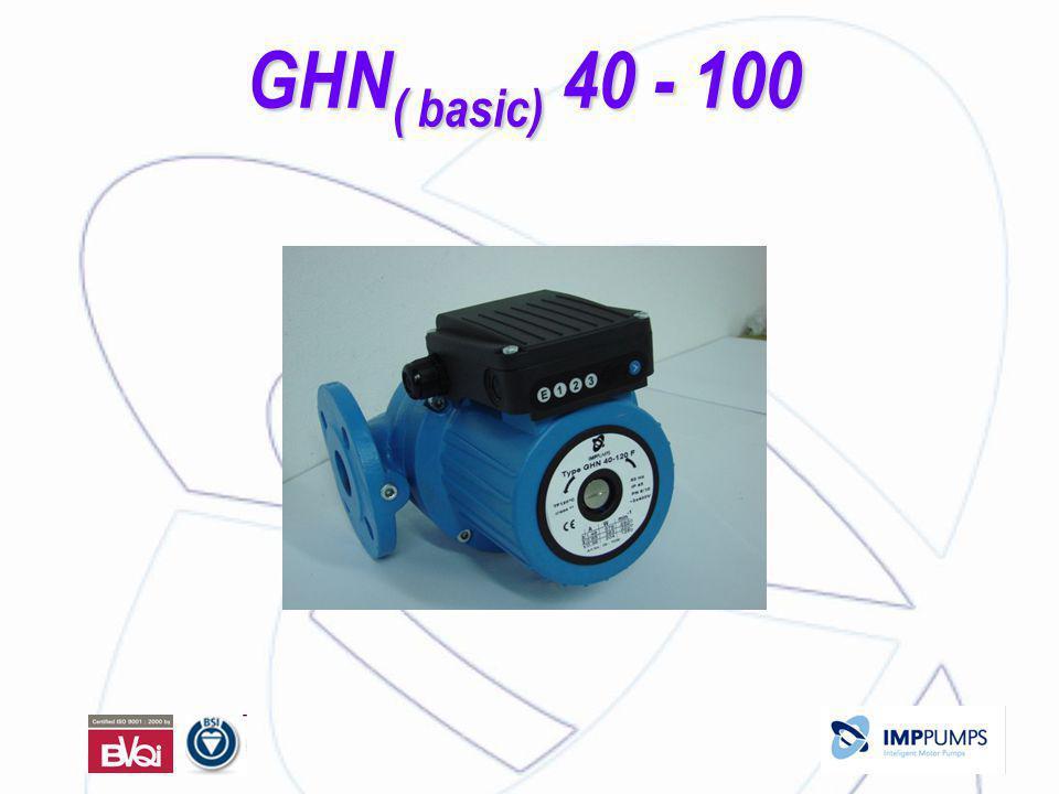 GHN ( basic) 40 - 100 GHN ( basic) 40 - 100