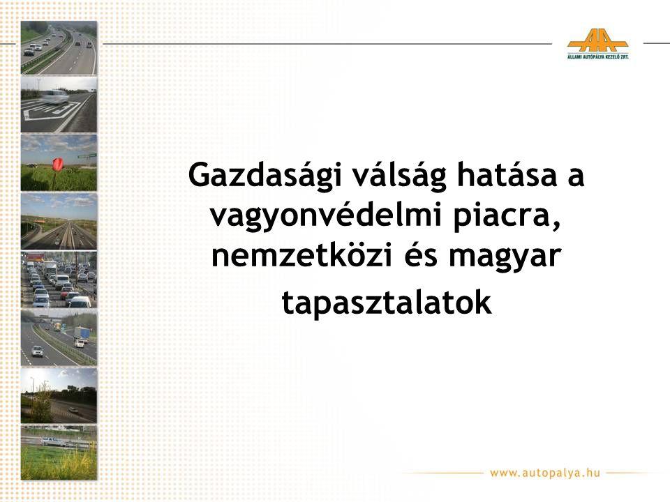 Gazdasági válság hatása a vagyonvédelmi piacra, nemzetközi és magyar tapasztalatok