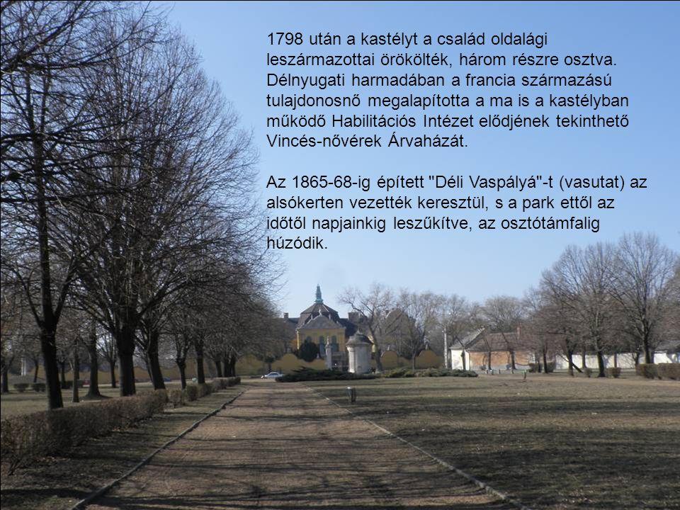 A kastély története az ókorba vezethető vissza.