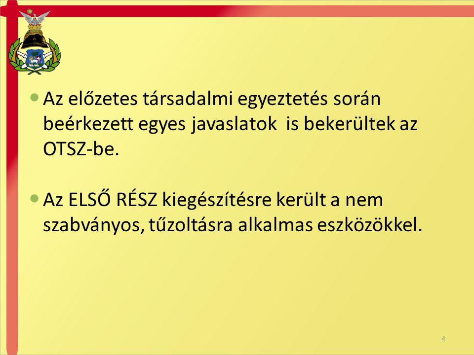  38.§ (3) A föld feletti tűzcsapok éves teljes körű felülvizsgálata során a féléves felülvizsgálat feladatain felül a felülvizsgálatot végző személy ellenőrzi a) a csonkkapcsok állapotát, rögzítettségét, b) a tömítések épségét, állapotát, c) a kupakkapcsok állapotát, szerelhetőségét, d) tömítéssel ellátott kupakkapocsnál a tömítés épségét, állapotát, e) az elveszés elleni biztosítás meglétét, f) a biztonsági ház(ak) állapotát, nyithatóságát, zárhatóságát, g) a kupakkapcsok levétele után a tűzcsap szelep működtetésével a tűzcsap üzemképességét, h) a tűzcsapban mérhető statikus nyomást, i) mindkét csonkon egyidejűleg mérve a kifolyási nyomást, és j) a víztelenítő rendszer működését.