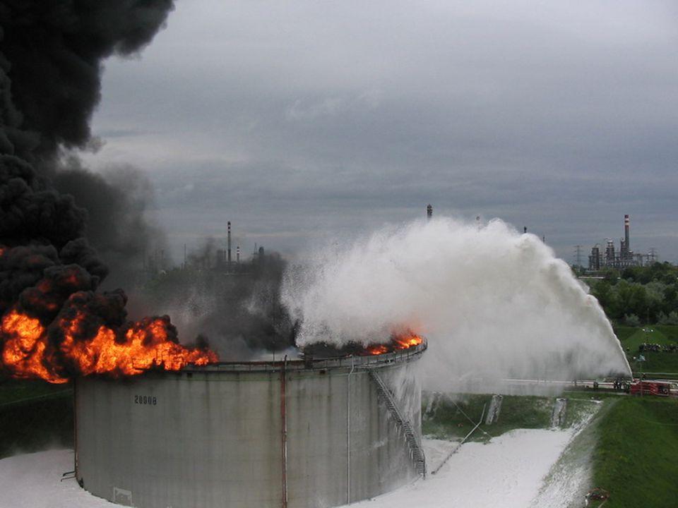 Tartálytűzoltási gyakorlat Tankfire extinguishing