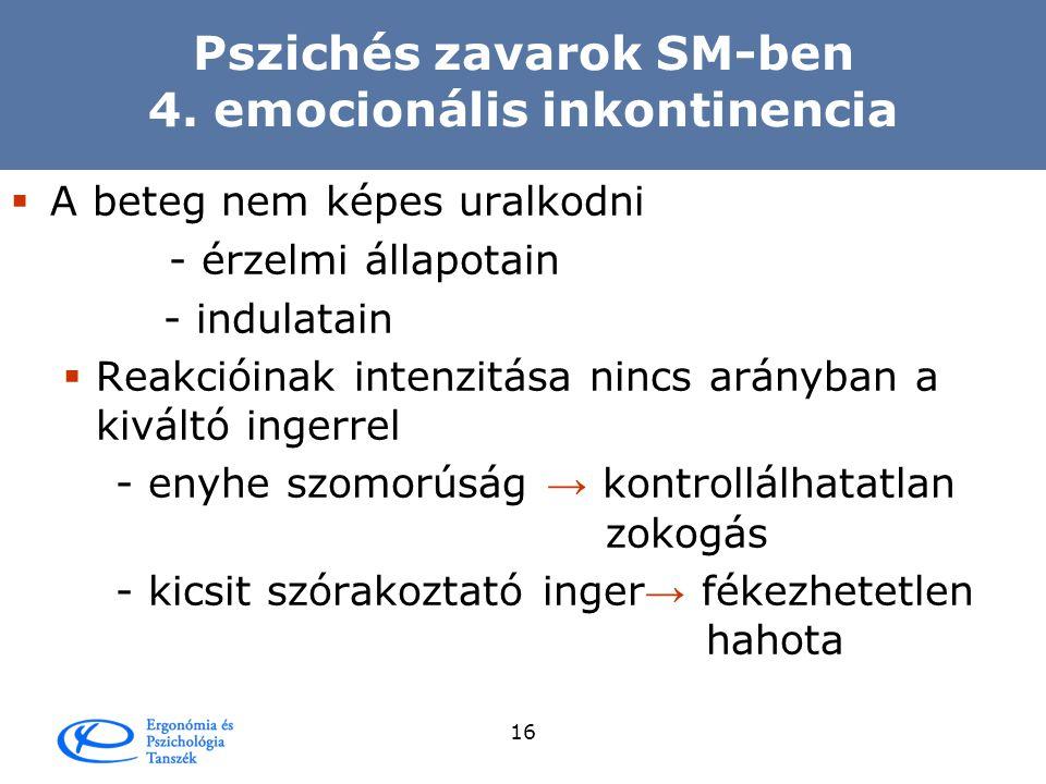 15 Pszichés zavarok SM-ben 3.