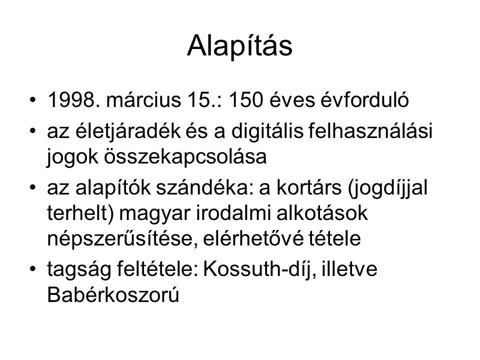 Alapítás •1998.