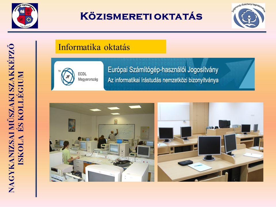 NAGYKANIZSAI MŰSZAKI SZAKKÉPZŐ ISKOLA ÉS KOLLÉGIUM 3 éves előrehozott szakképzésben: Egyéb szolgáltatások Zsigmondy-Széchenyi tagintézmény Fodrász