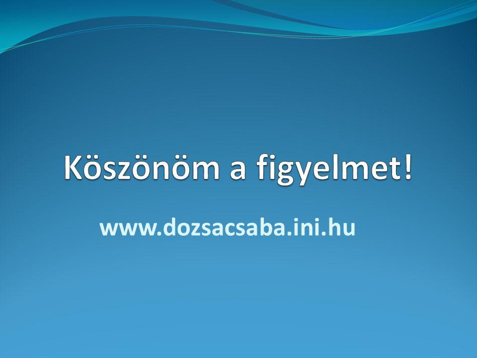 www.dozsacsaba.ini.hu