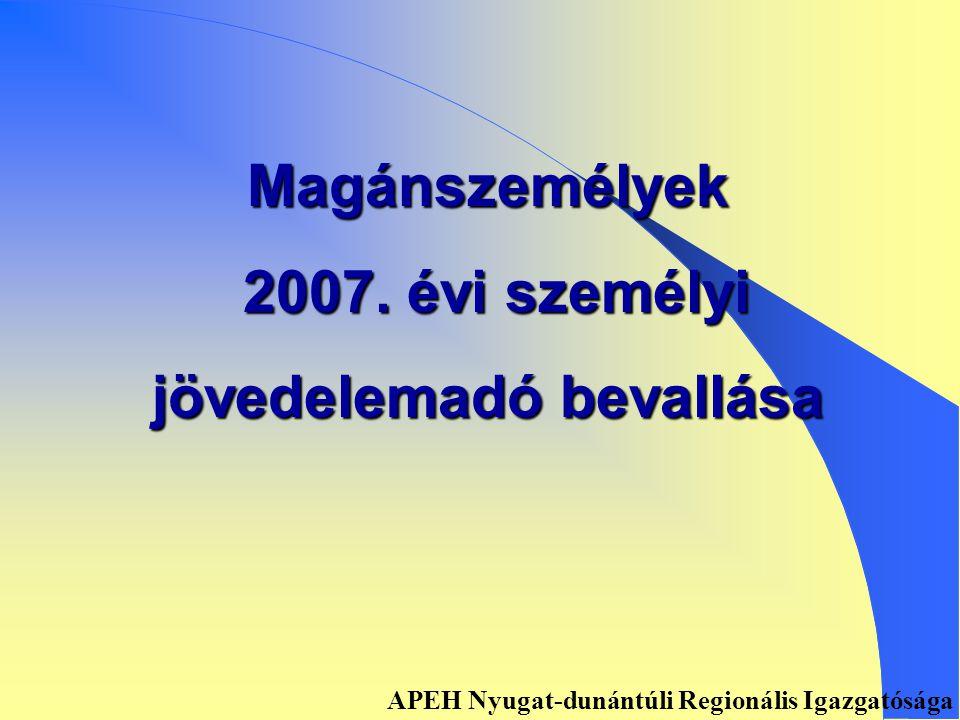 Elektronikus bevallásra kötelezettek • Art. 31.