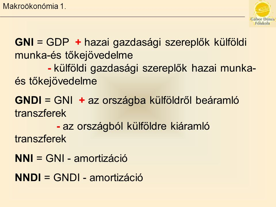Makroökonómia 1.