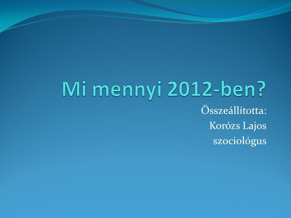 Munkabérek, illetmények (minimálbér, garantált bérminimum)  Minimálbér 298/2011.