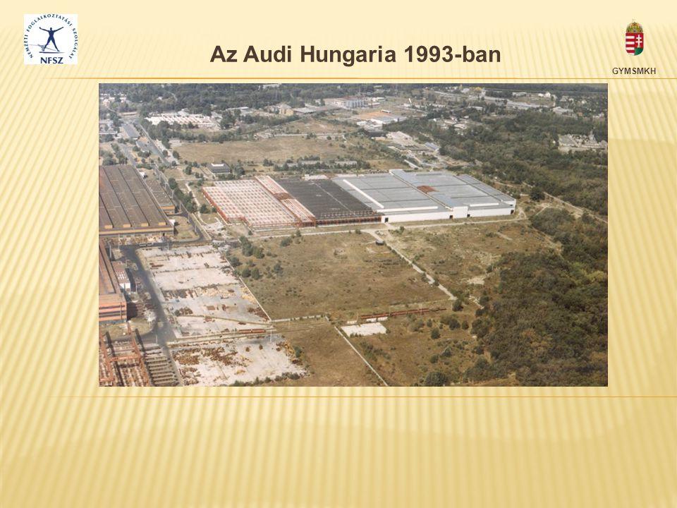 Az Audi Hungaria 1993-ban GYMSMKH