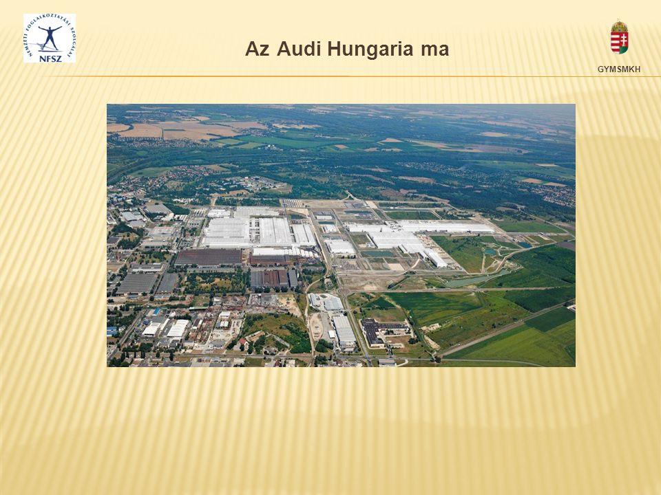Az Audi Hungaria ma GYMSMKH