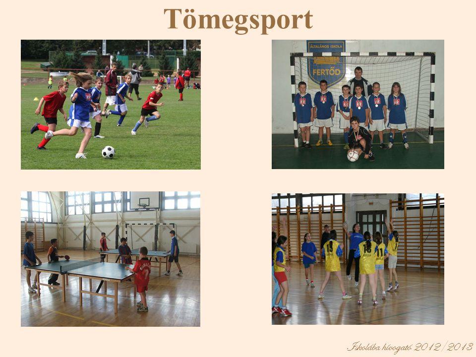 Iskolába hívogató 2012/2013 Tömegsport