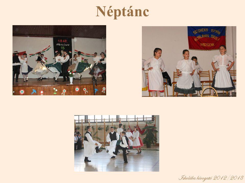 Iskolába hívogató 2012/2013 Néptánc