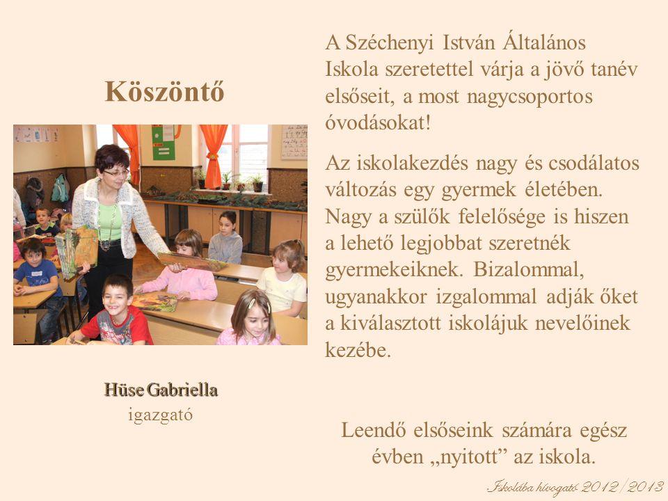 A Széchenyi István Általános Iskola szeretettel várja a jövő tanév elsőseit, a most nagycsoportos óvodásokat! Az iskolakezdés nagy és csodálatos válto