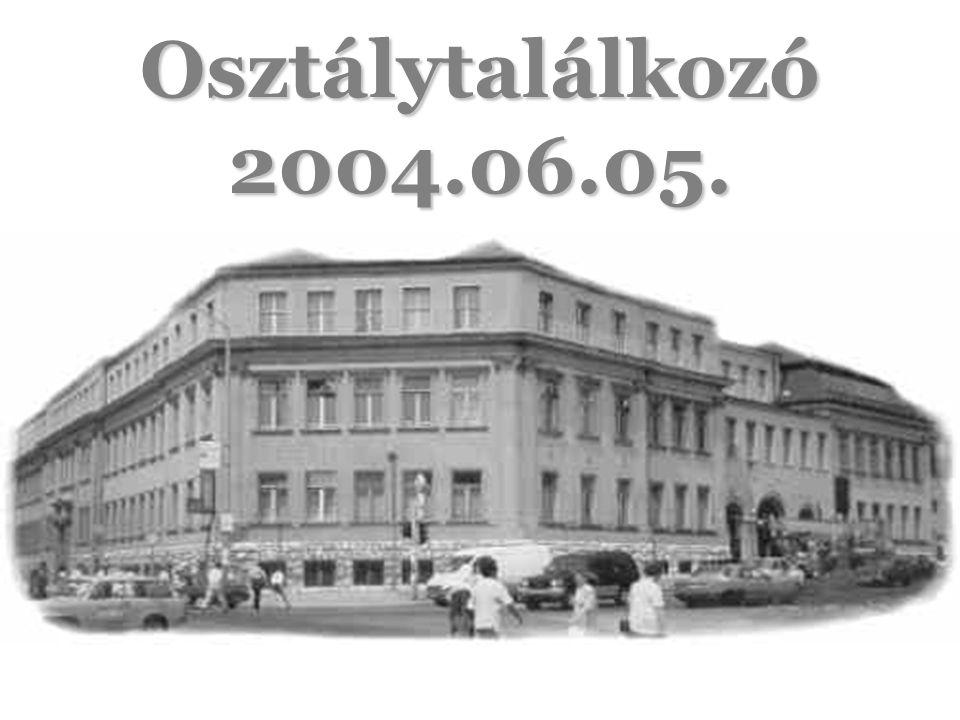 ÖT ÉVVEL EZELŐTT 1999.06.05.