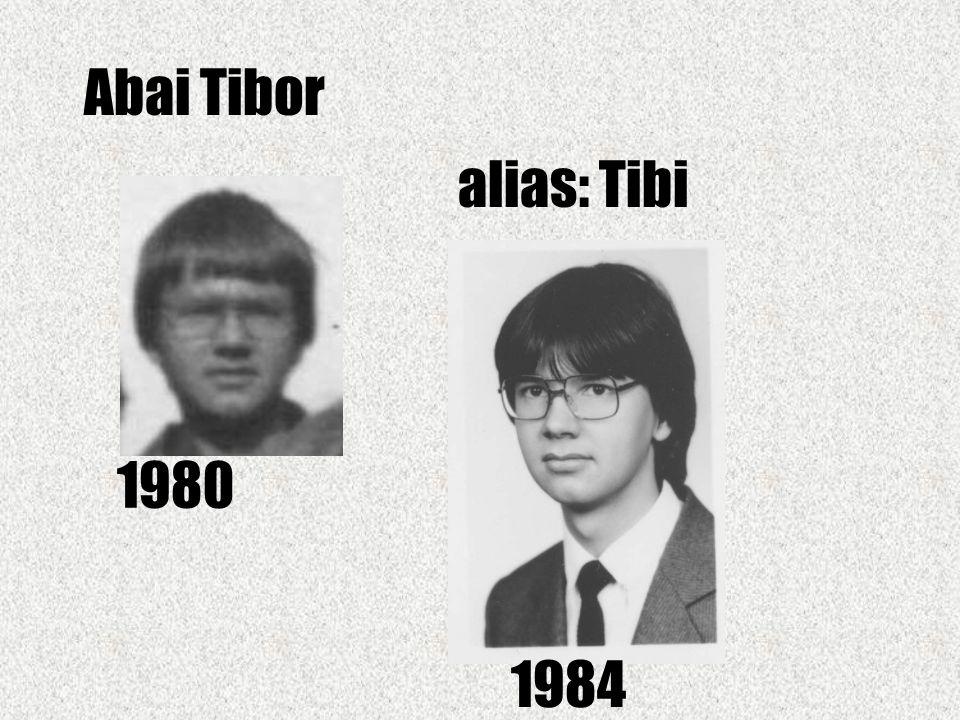 Andrási Gábor alias: Andrew 1980 1984