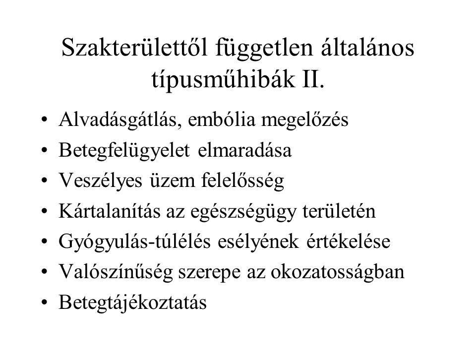 Diagnosztikai tévedés I.