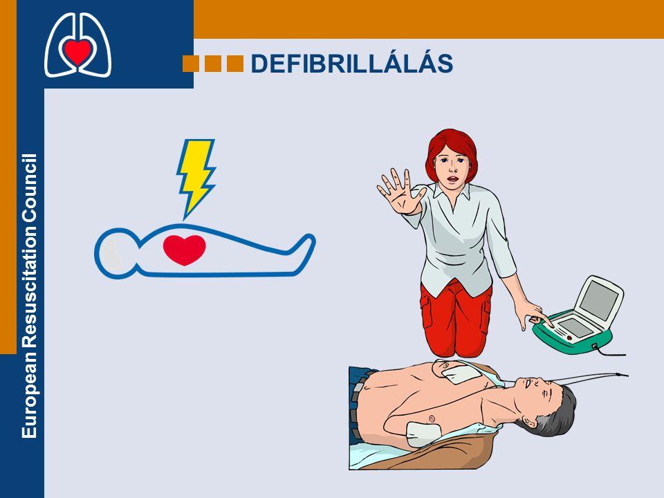 European Resuscitation Council DEFIBRILLÁLÁS