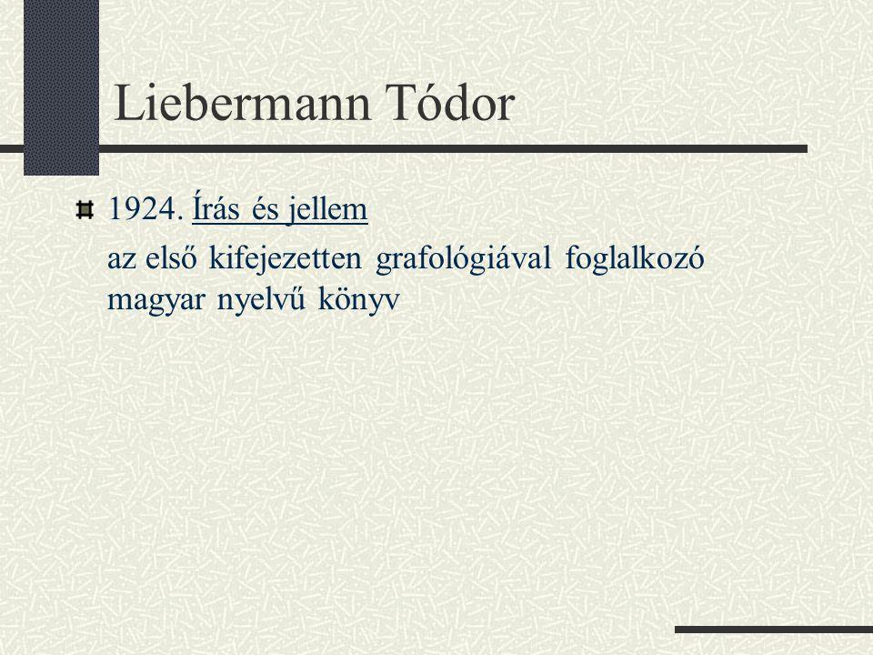Liebermann Tódor 1924.