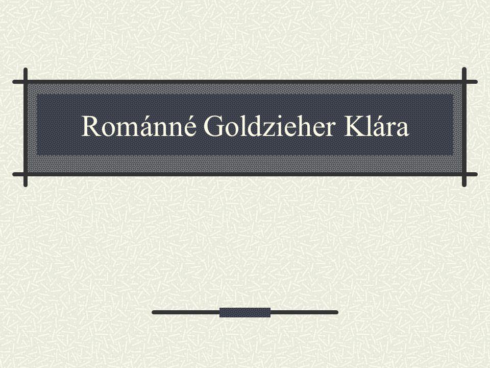 Románné Goldzieher Klára