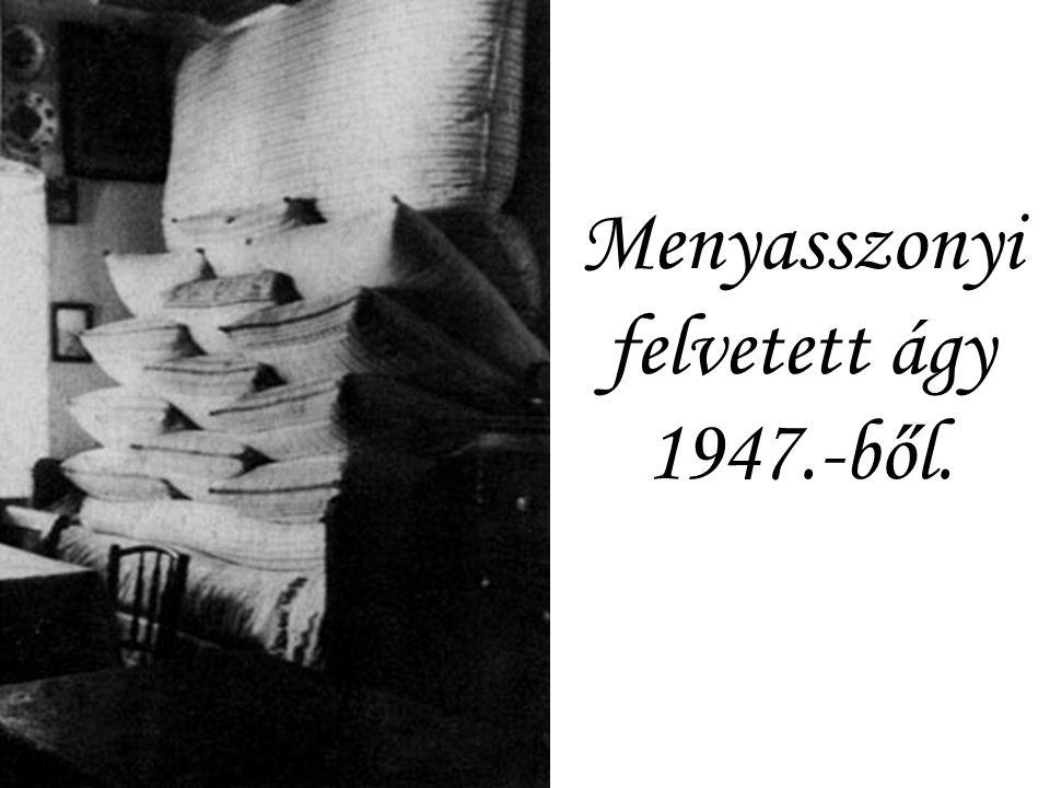 Menyasszony 1947. ből