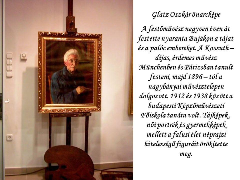 Buják 2008.02.23. Glatz Oszkár állandó kiállítását a festőművész halálának 50.évfordulóján nyitották meg a Glatz Oszkár Művelődési Központban.