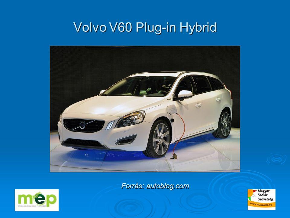 Volvo V60 Plug-in Hybrid Forrás: autoblog.com